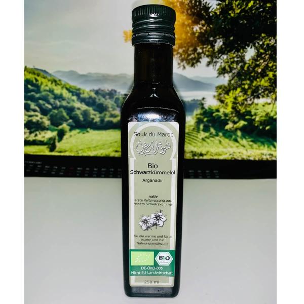 Bio Schwarzkümmelöl aus Ägypten 250ml