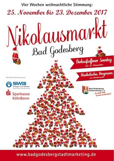 Bad Godesberger Nikolausmarkt 2017