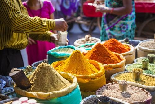 orientalische Gewürze vom Markt
