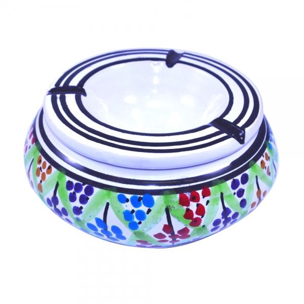 Keramik Aschenbecher Mukhdir Handarbeit aus Tunesien
