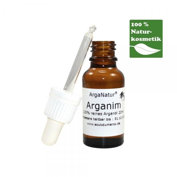 Bio-Arganöl Arganim für Haut und Haar 20ml