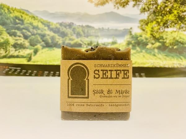 Schwarzkümmel-Seife 100% reine Naturseife handgesiedet 100g