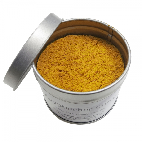 oranges Curry Gewürzmischung