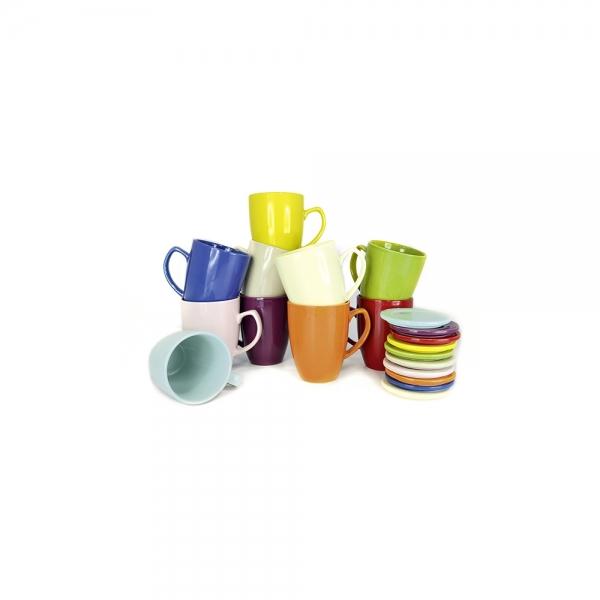 Shamila Teetasse mit Sieb und Deckel 0,35l in 10 Farben