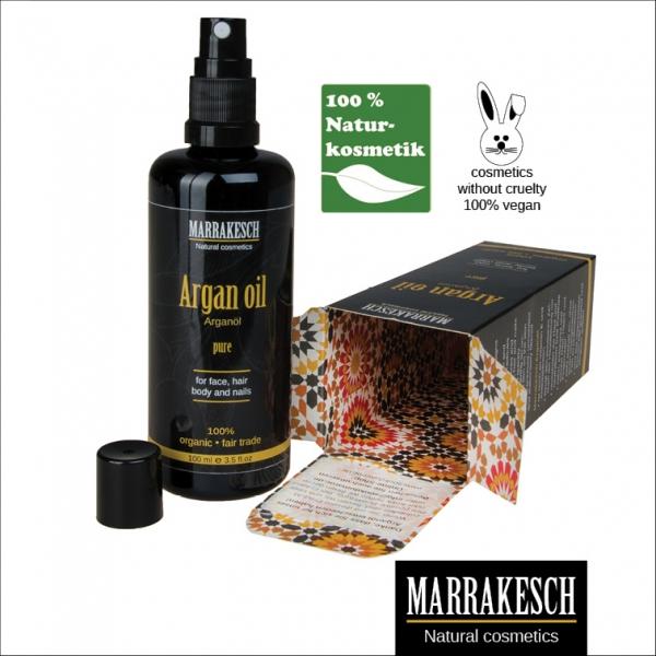 Marrakesch | Arganöl Kosmetik für Haut und Haar |100ml | Zerstäuber