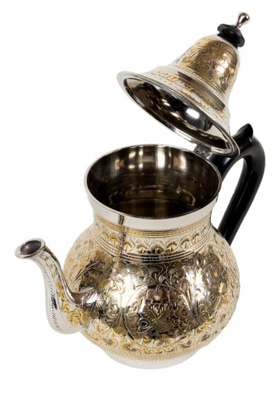 Orient Teekanne Abidin goldfarbig- 1 Liter