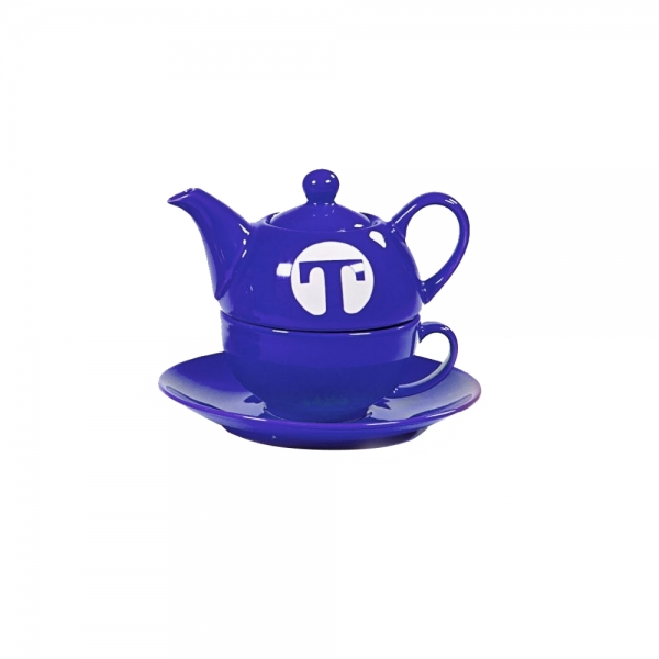 Tea for one Service Teekanne mit passender Teetasse