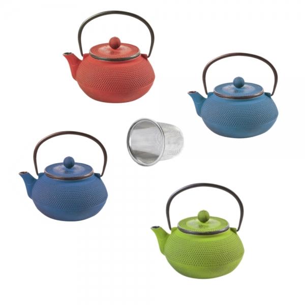 Teekanne japanisch Gusseisen Iro-Ocha