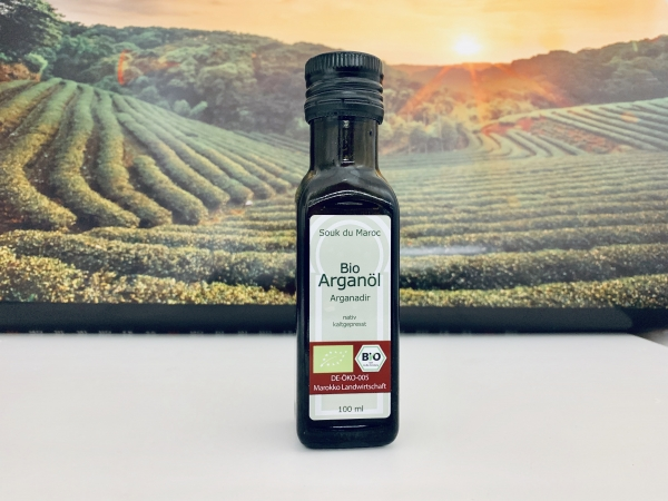 Bio Arganöl nativ Arganadir Speiseöl aus Marokko 100ml