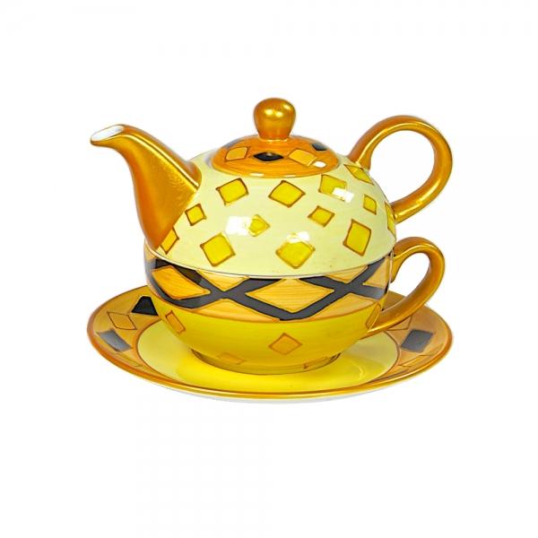 Teeservice Ebun Teetasse und Teekanne
