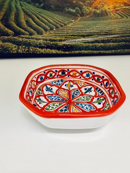 Orient-Keramik Schale Helder-Asmar handgearbeitet 16cm Ø