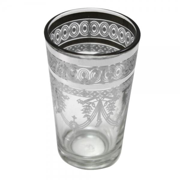 Orient Teegläser Jamil einzeln aus 1001 Nacht kristall-weiß