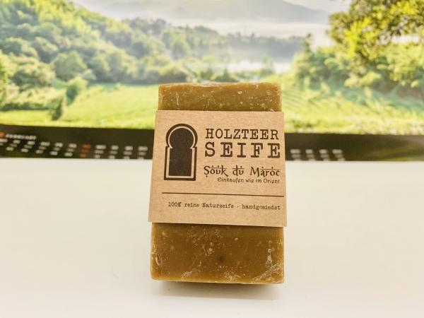 Holzteer-Seife 100% reine Naturseife handgesiedet 110g