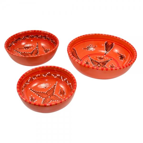 Orient Keramik Schale Kemal Handarbeit aus Tunesien