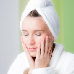 Arganöl Gesichtsbehandlung für frisches vitales Hautbild