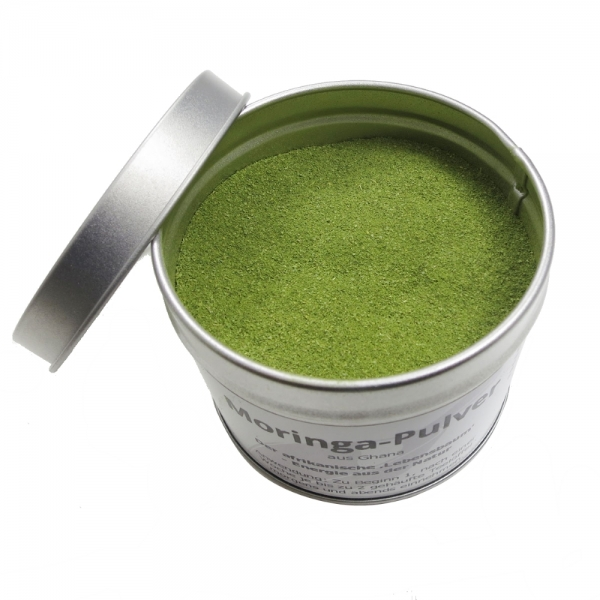 Moringa Pulver 100% Blattpulver 70g