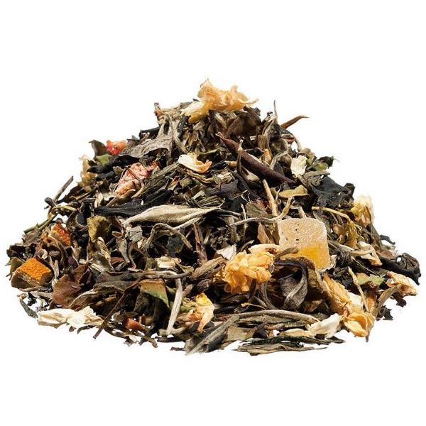Deine Auszeit Grüner Tee mit weißem Tee, Papaya, Aprikose