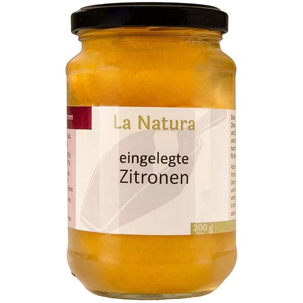 Eingelegte Zitronen in Salzlake für Tajine-Rezepte 200g