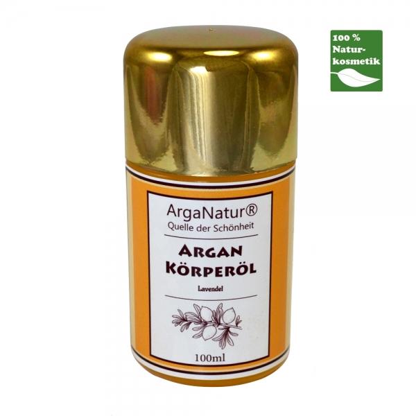 Argan-Körperöl Lavendel ArgaNatur Quelle der Schönheit