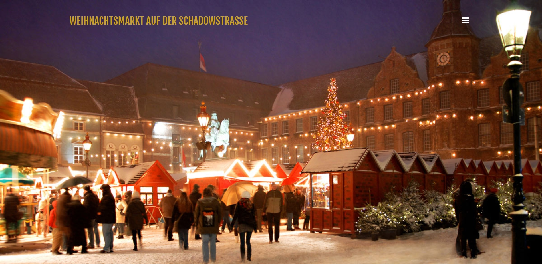 Märchenmakrt Schadowplatz Düsseldorf 2017