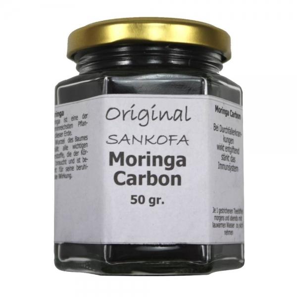 Moringa Carbon Wurzelpulver Nahrungsergänzung 50gr