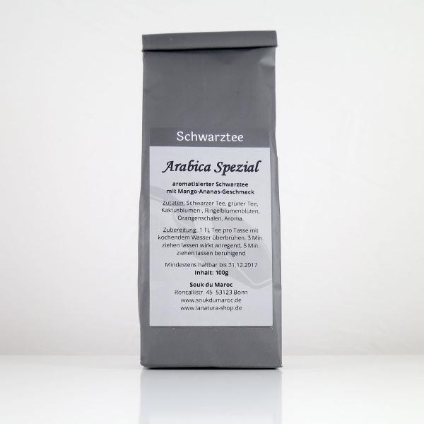 Schwarzer Tee mit Arabica Spezial als Teemischung