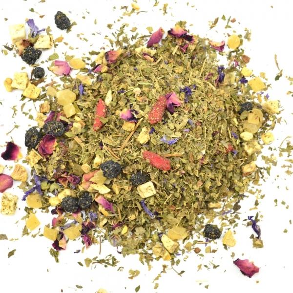 Früchtetee Gojibeeren-Tee das Superfood aus Tibet lose