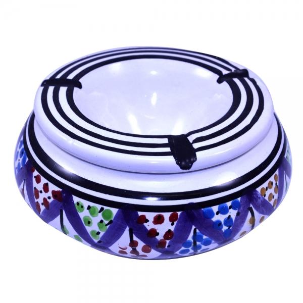 Keramik Aschenbecher Sadaf Handarbeit aus Tunesien