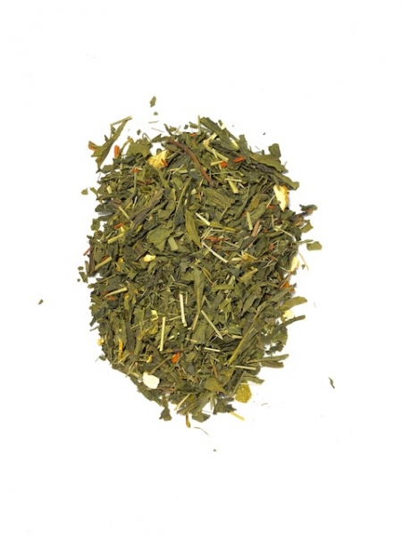 Grüner Tee mit Zitronengras als Teemischung