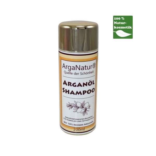 ArgaNatur Arganöl Shampoo 200ml Arganöl-Kosmetik für die Haarpflege
