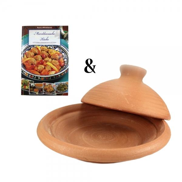 Alibaba Tajine mit Kochbuch und marokkanischen Rezepten