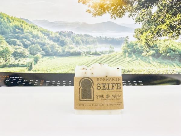 Rosmarin-Seife 100% reine Naturseife handgesiedet 100g