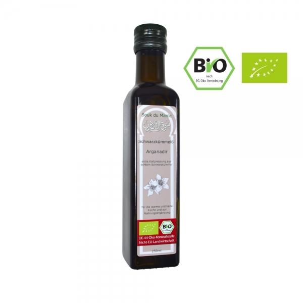 Bio Schwarzkümmelöl nativ Speiseöl 250ml