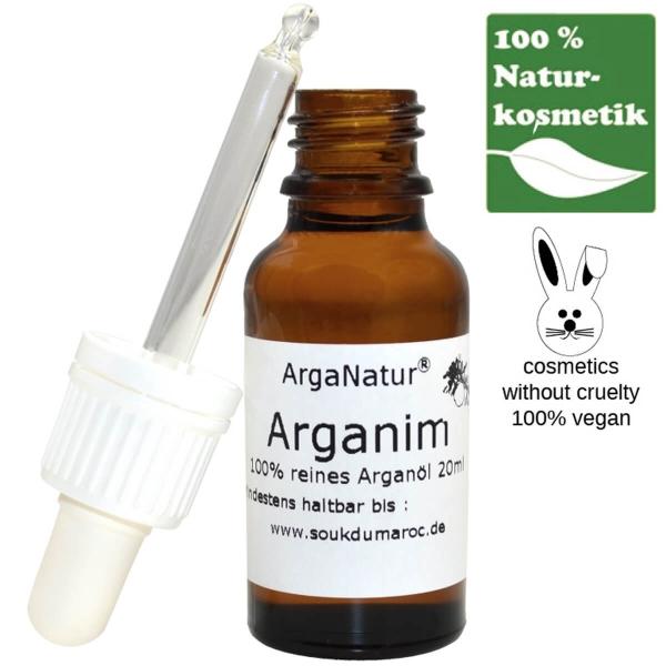Arganöl Arganim für Haut und Haar 20ml