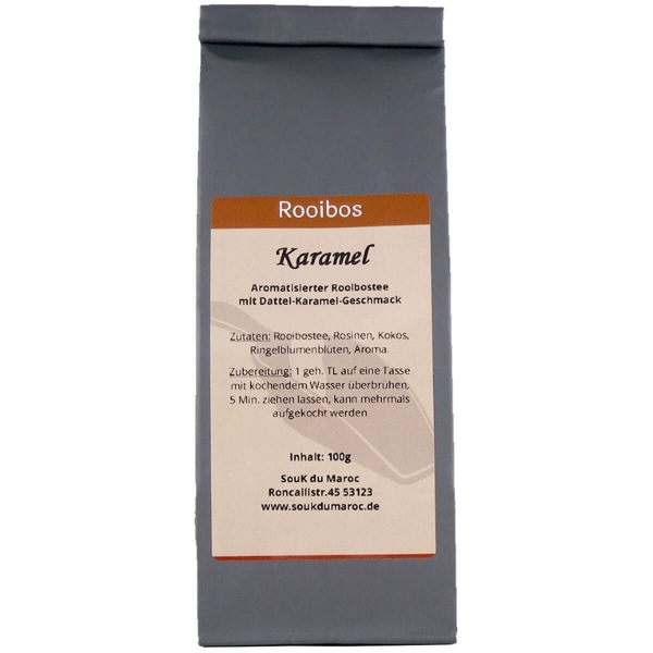 Rooibos Tee mit Karamel Geschmack