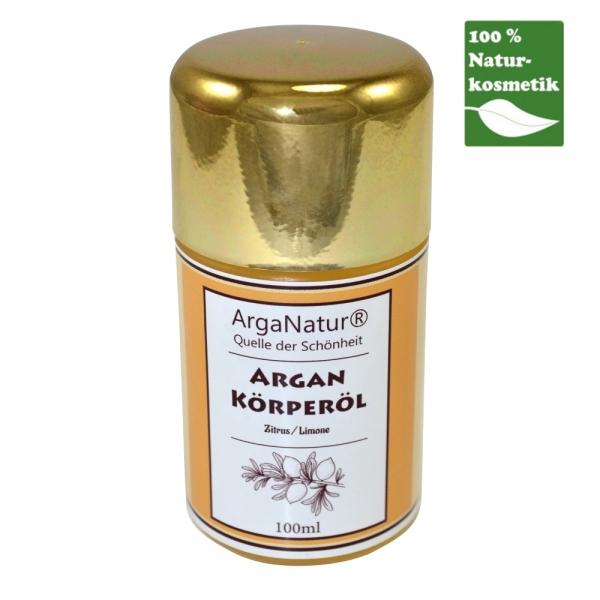 Argan-Körperöl Zitrus Limone ArgaNatur Quelle der Schönheit