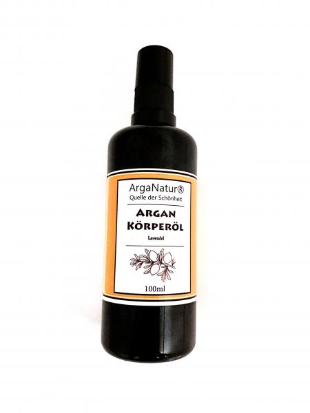 Arganöl Lavendel Argan-Körperöl 100ml ArgaNatur Massageöl