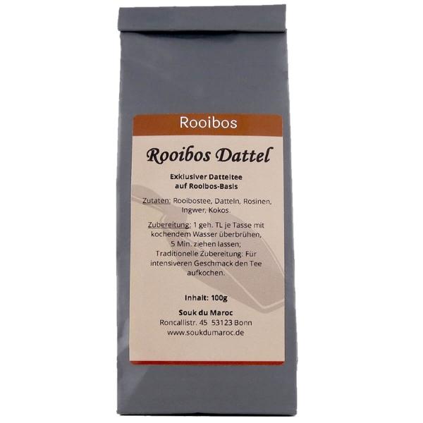 Rooibos Tee mit Dattel natur belassen
