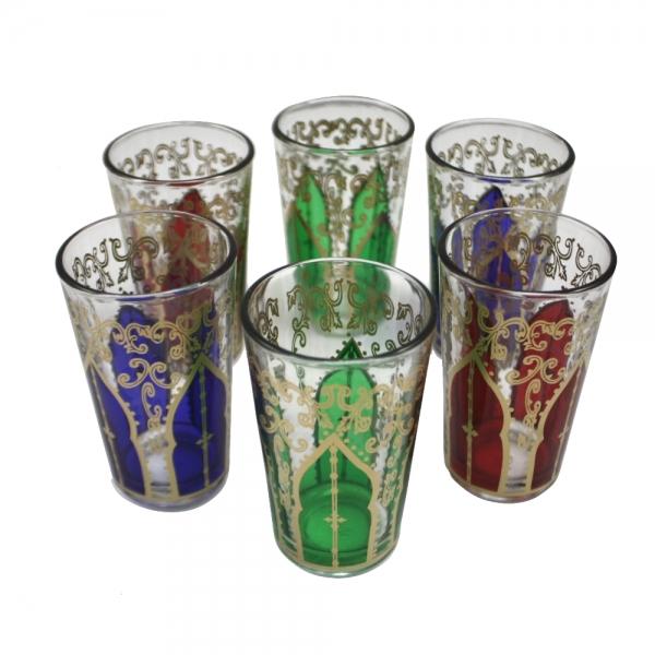 Orient Teegläser Mizin 6er aus 1001 Nacht