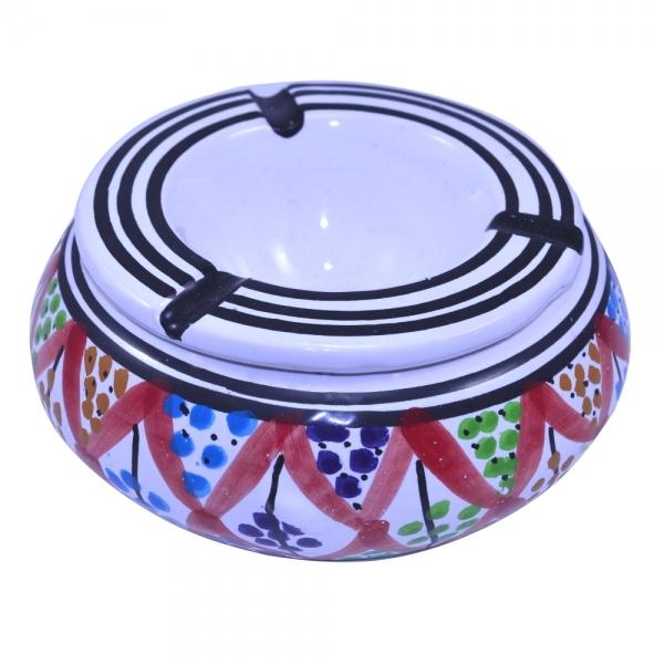 Keramik Aschenbecher Jalil Handarbeit aus Tunesien