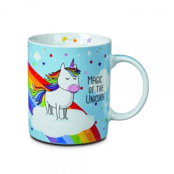Einhorn Teetasse mit Regenbogen Magic of the Unicorn 330ml