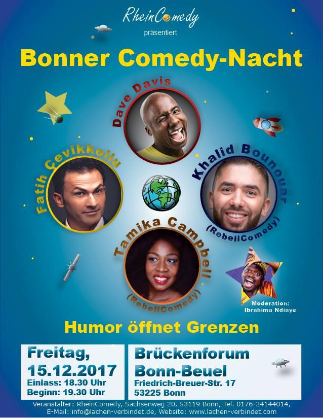 Die Bonner Comedy-Nacht am 15.12.2017