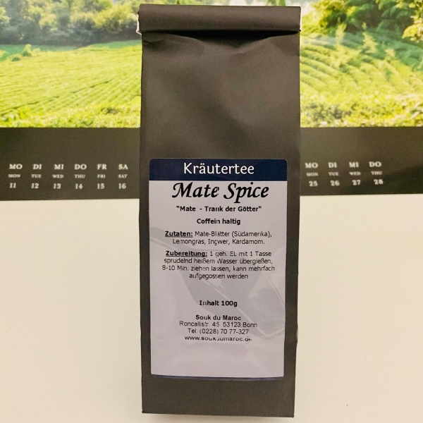 Kräutertee Mate Spice isotonisch