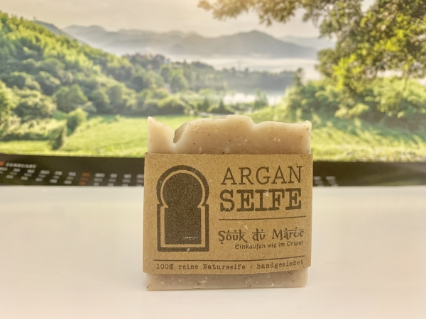 Arganöl-Seife 100% reine Naturseife handgesiedet 100g