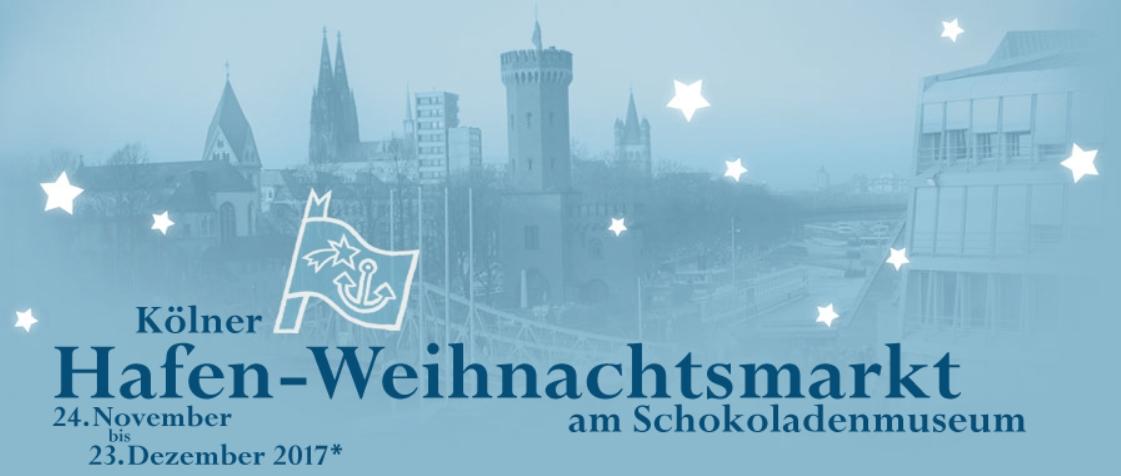 Zur Hompage vom Kölner Hafen-Weihnachtsmarkt