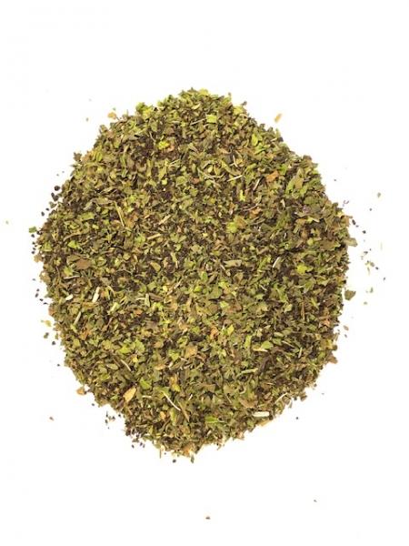 Schwarzer Tee mit ägyptischer Minze als Teemischung