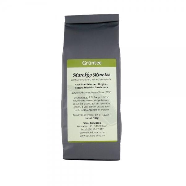 Grüner Tee Marokko Minztee