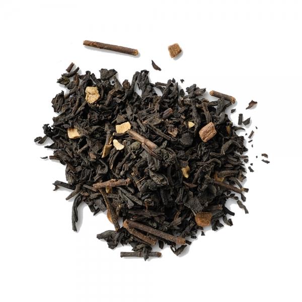 schwarzer Tee indischer Chai lose