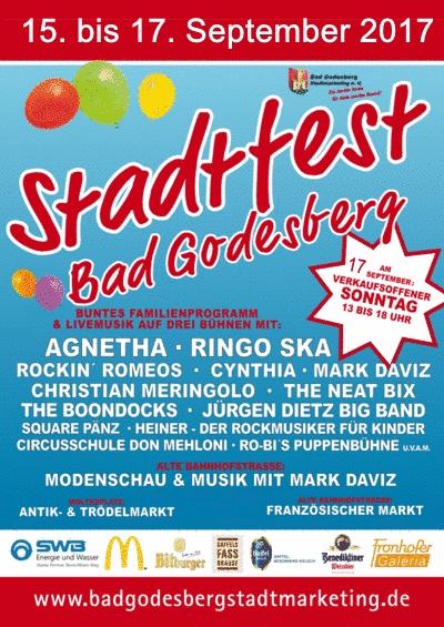 Stadtfest Bad Godesberg 2017 #SBaGo2017