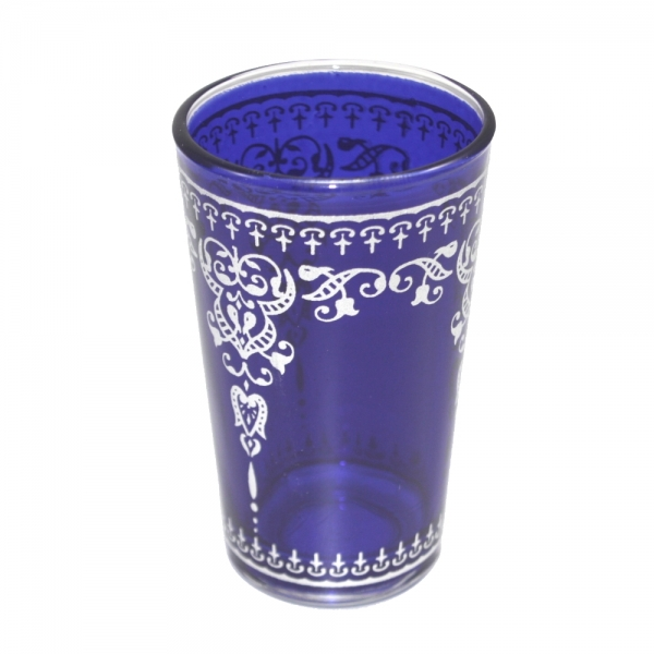 Orient Teegläser Jamil einzeln aus 1001 Nacht königs-blau